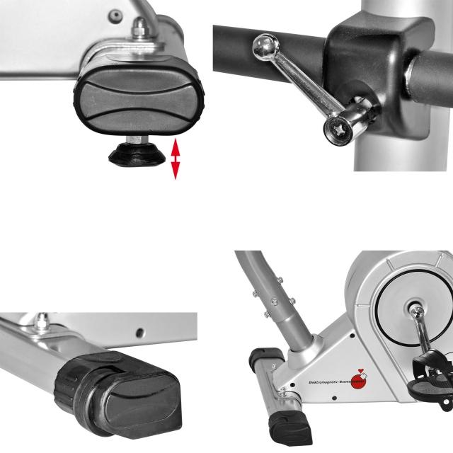 christopeit heimtrainer fahrrad ht 3 mit 10 kg magnet. Black Bedroom Furniture Sets. Home Design Ideas
